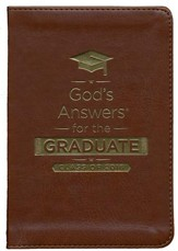NKJV God's Answers for the Graduate: Class of 2016, Brown