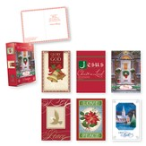 Value Box, Assorted Christmas Cards, Box of 36