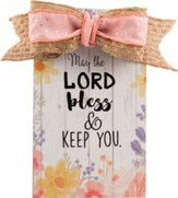 May the Lord Bless and Keep You Wall Plaque