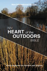 NIV Heart of the Outdoors Bible, softcover