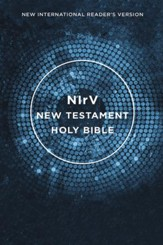 NIrV Outreach New Testament--softcover, blue