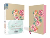 NIV Journal the Word Bible for Teen Girls Gold Floral, Imitation Leather - Imperfectly Imprinted Bibles
