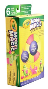Crayola, Model Magic Assortment Pack, 6 Piece