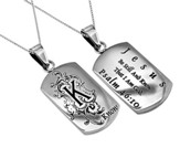 Be Still and Know, Letter Dog Tag