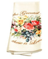 The Greatest Of These Is Love, Single Kitchen Towel
