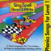 Sing, Spell, Read & Write Level 1 Audio CDs