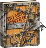 Keep Out, Lock and Key Diary