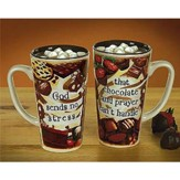 Chocolate & Prayer Java Mug