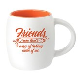 Friends Are God's Way Mug