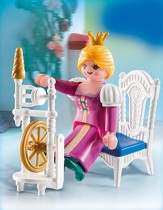 Playmobil Princess With Weaving Wheel Accessory