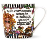Successful Woman Porcelain Mug