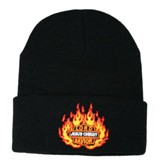 Lord Jesus Christ Savior Beanie, Black