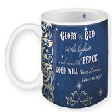 Glory To God, Mug In A Gift Box, Luke 2:14, 11 oz
