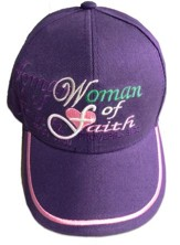 Woman of Faith Cap, Purple