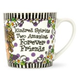 Kindred Spirits, Forever Friends, Porcelain Mug