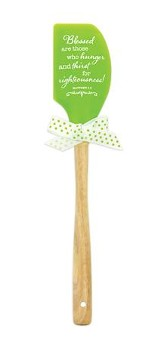 Blessed, Green Silicone Spatula