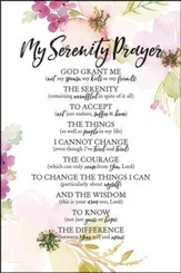 My Serenity Prayer God Grant Me Plaque