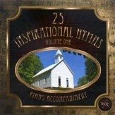 25 Inspirational Hymns, Vol. 1, Accompaniment CD