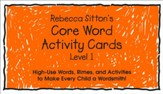 Sitton Grade 1 Core Words