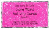Sitton Grade 3 Core Words