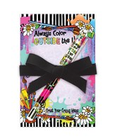 Color Outside The Lines Notepad Gift Set
