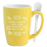 Sister, God Chose You, Mug