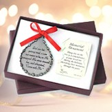 God Saw Her Getting Tired, Memorial Pewter Ornament