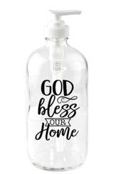 God Bless Our Home Soap Dispenser