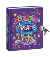Secrets, Dreams, and  Wishes--Glow-in-the-Dark Diary