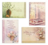 Comfort and Peace Sympathy Cards, Box of 12