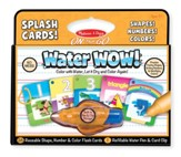 Water Wow! Splash Cards Shapes, Numbers and Colors