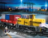 PLAYMOBIL ® Remote Control Freight Train Playset