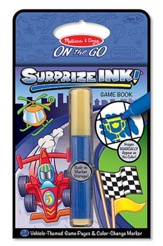 SurprizeINK!, Vehicles, On the Go Activity Book