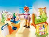 Playmobil Baby Room with Cradle Accessory