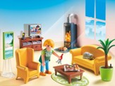 Playmobil Living Room with Fireplace Accessory