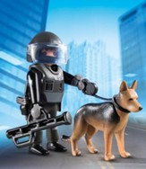 Playmobil Tactical Police Dog Unit Accessory