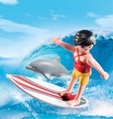 Playmobil Surfer with Surf Board Accessory