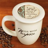Live with Purpose Mug and Coaster