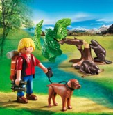 Playmobil Beavers with Backpacker Accessory