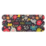 Love You More Emery Boards, Pack of 3