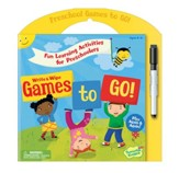 Preschool Games To Go: Write and Wipe Activities
