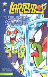 Larryboy and the Sinister Snow Day, Larryboy Books #3