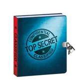 Top Secret, Invisible Ink, Lock and Key Diary