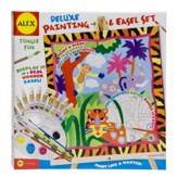 Deluxe Painting & Easel Set, Jungle Fun