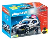 Playmobil Police Car With Flashing Light Accessory