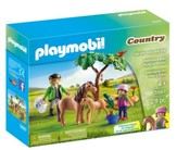 Playmobil Vet With Pony and Foal Accessory