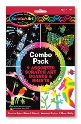 Scratch Art Combo Pack