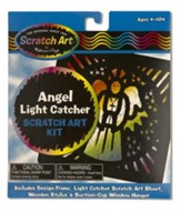 Angel Light Catcher, Scratch Art Kit