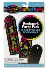 Scratch Art, Bookmark Scratch Art Party Pack