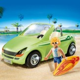Playmobil Surfer with Convertible